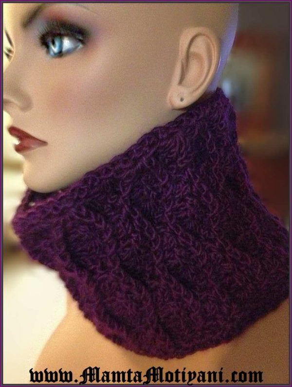 Crochet Cobra Hood Cowl Pattern