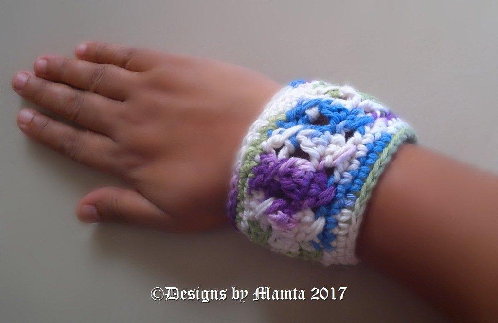 Chunky Textured Cuff Bracelet Crochet Pattern Cool Jewelry Patterns