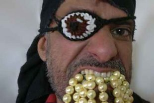 Crochet Eye Patch