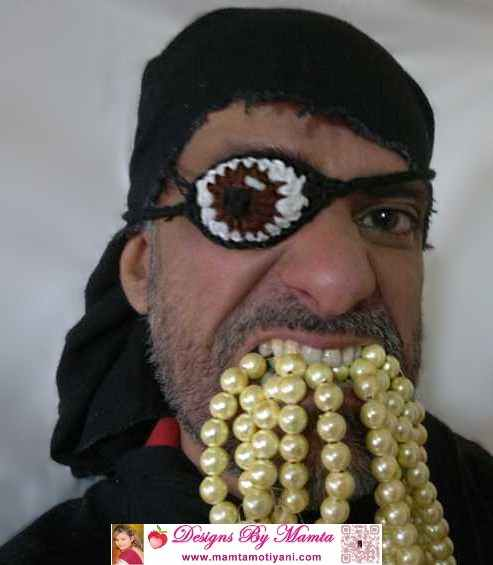 Crochet Eye Patch