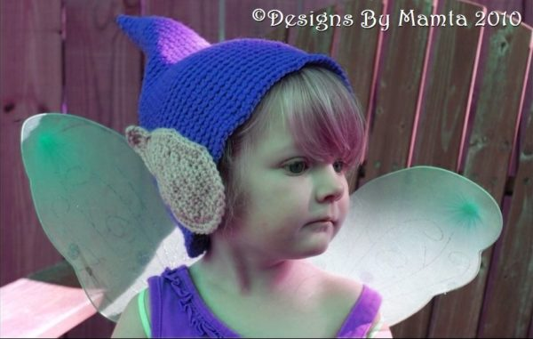 Crochet Fairy Hat