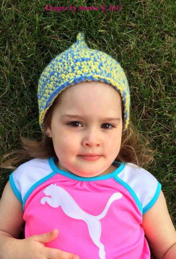 Crochet Fairy Hat Pattern