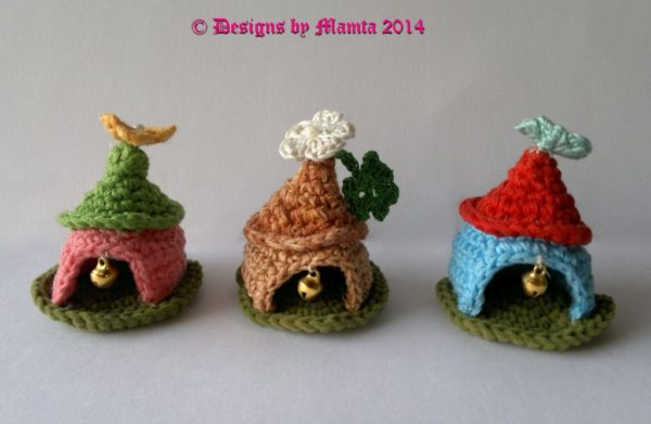 Crochet Fairy House Pattern