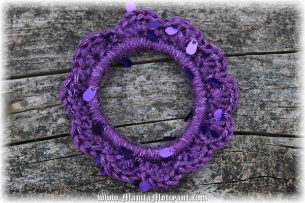Crochet Flora Bangle