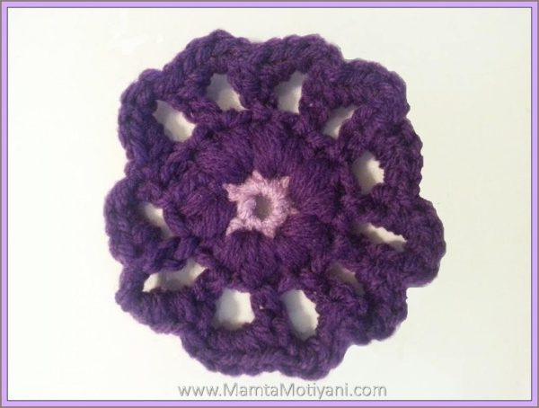 Crochet Flower Pattern
