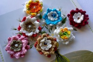 Crochet Flower Pattern A Million Lotuses
