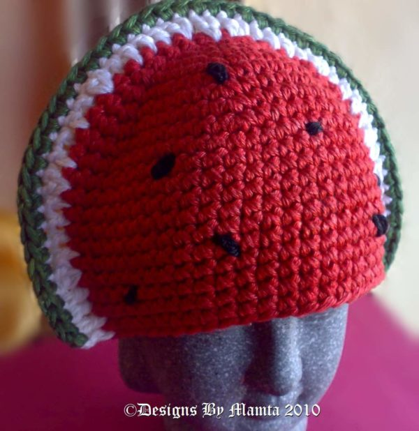 Crochet Fruit Hat Pattern
