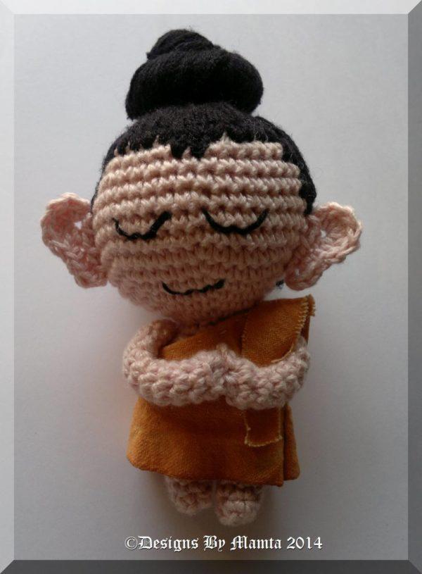 Crochet Gautama Buddha