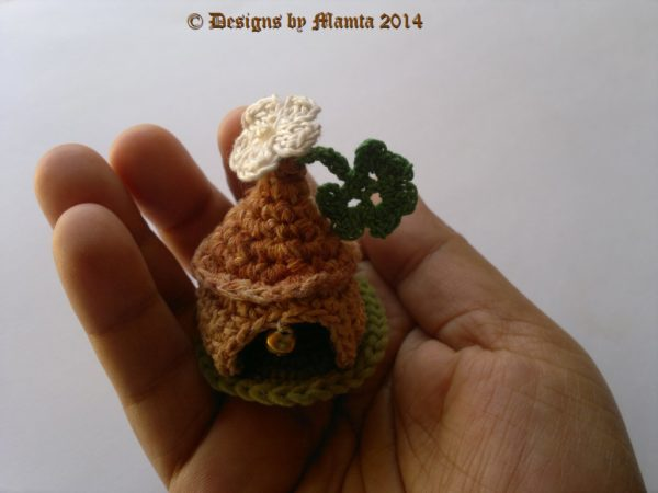 Crochet Gnome House Amigurumi Pattern