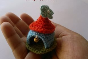 Crochet Gnome House Pattern