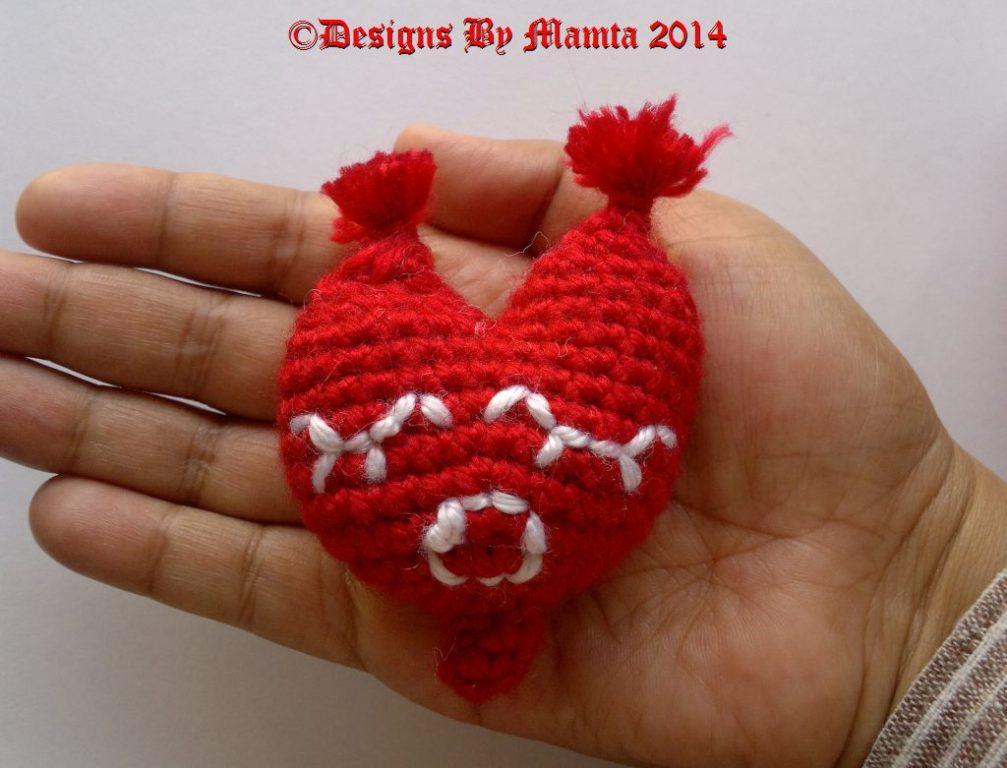 Amigurumi heart pattern | DIY Valentine`s gift idea | lilleliis | 768x1007