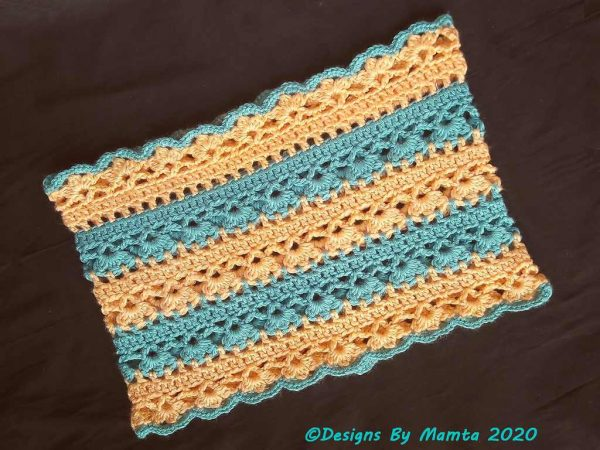 Crochet Hearts Cowl