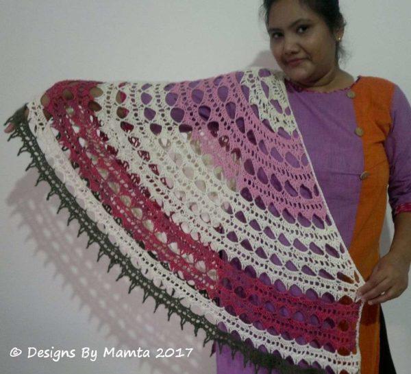 Crochet Mandala Shawl Pattern