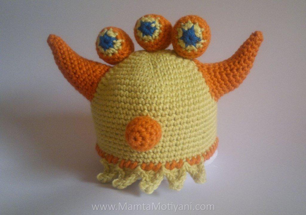 Crochet Ogre Monster Hat Pattern For Babies Children Easy Crochet