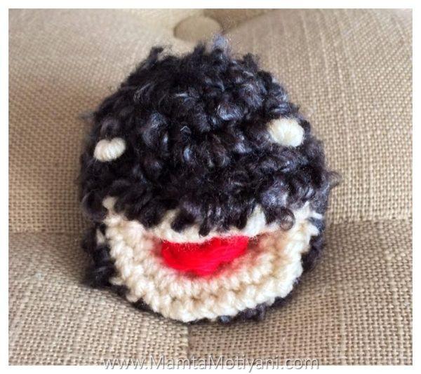 Crochet Pacman Pattern