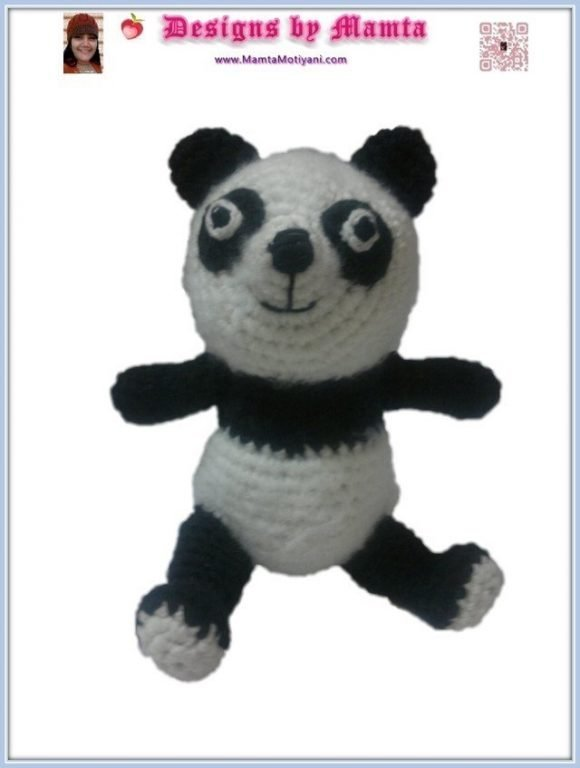 Crochet Panda Pattern A Unique Amigurumi Toy For Children Babies