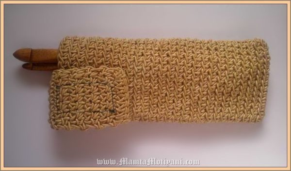 Crochet Pen Case Pattern