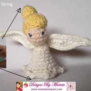 Crochet Periwinkle Fairy