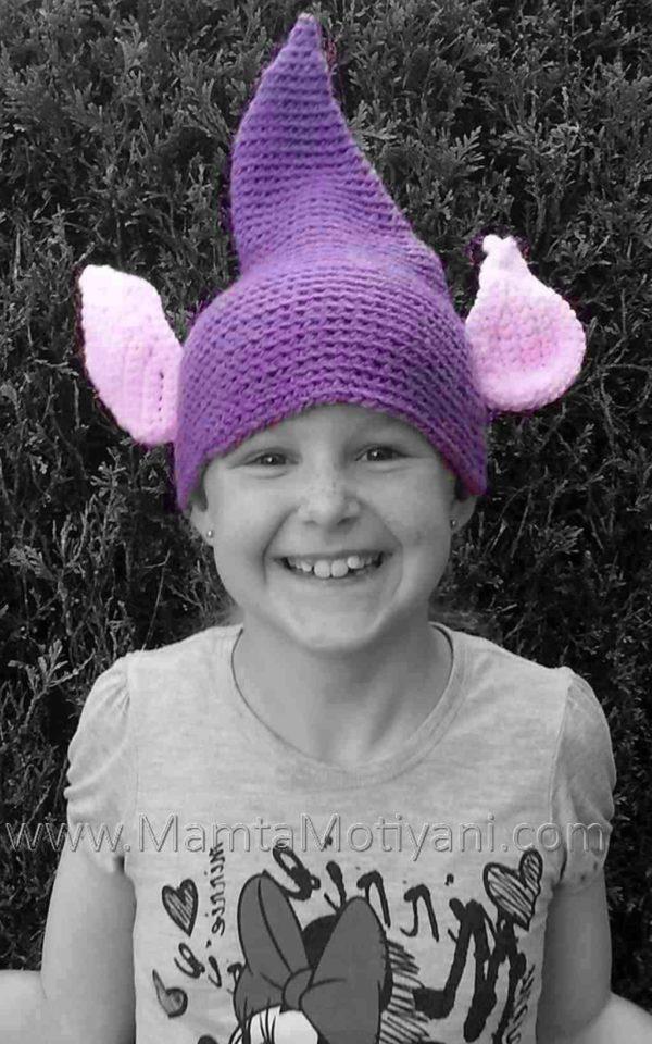 Crochet Pixie Hat