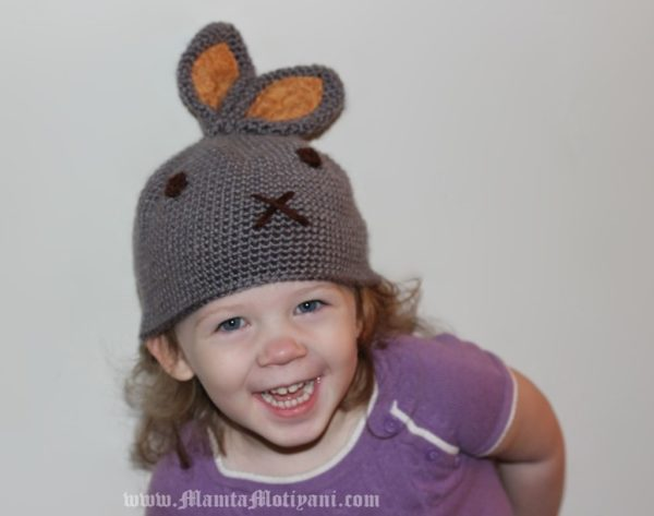 Crochet Rabbit Hat Pattern