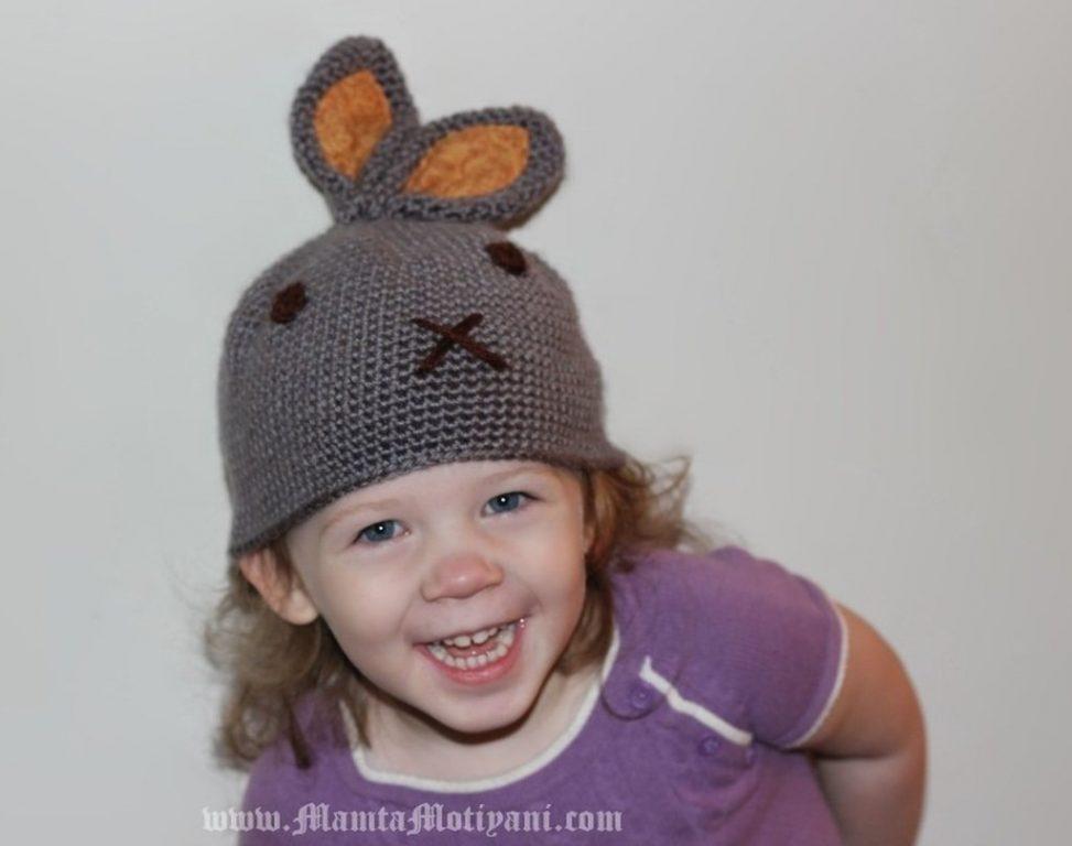 Crochet Bunny Hat With Ears Pattern  e1971ce1229