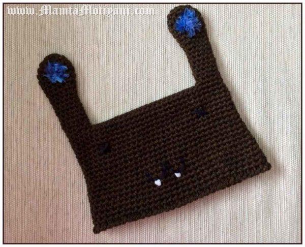 Crochet Rabbit Hat Pattern
