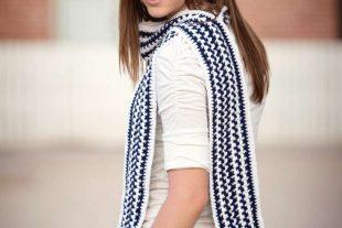 Crochet Rectangle Scarf Pattern