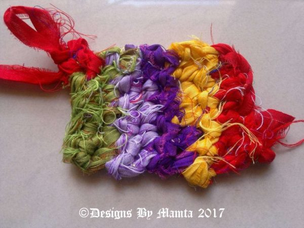 Crochet Ribbon Yarn
