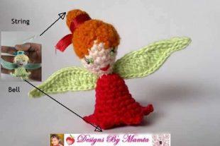 Crochet Rosette Fairy