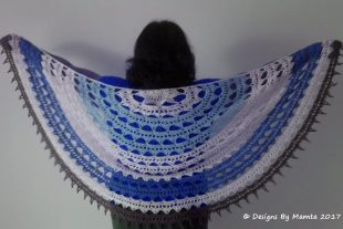 Crochet Sahasrara Shawl Pattern
