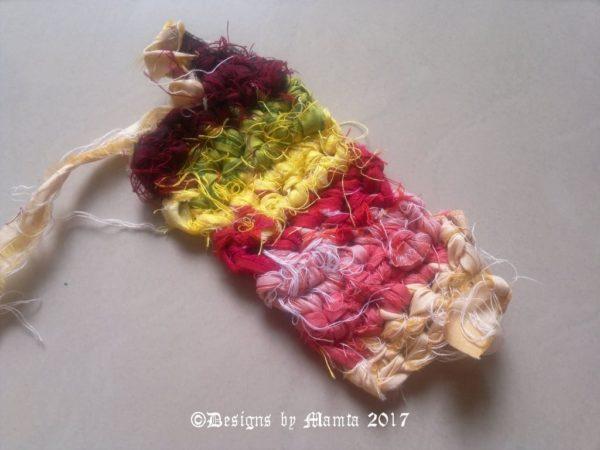 Crochet Sari Ribbon Yarn