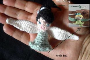 Crochet Silvermist Fairy
