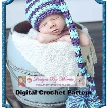 Crochet Stocking Cap Pattern
