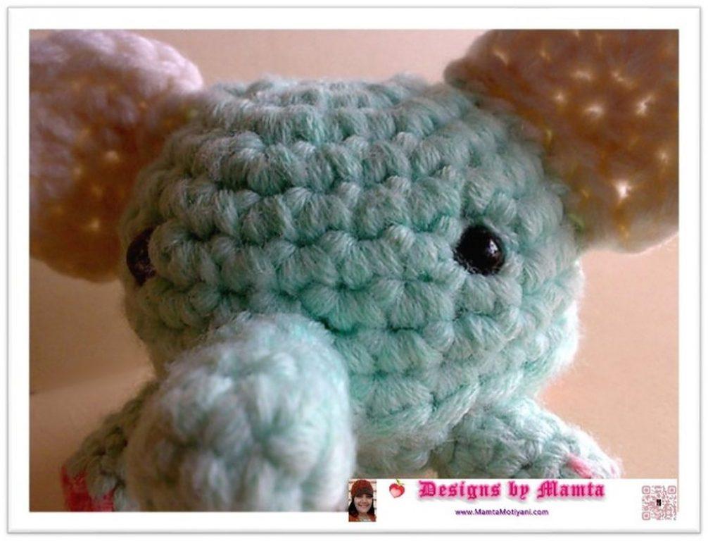 Crochet Stuffed Elephant Pattern Simple Decorating Ideas