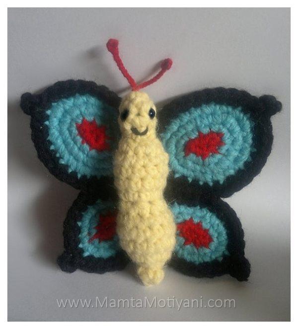 Crochet Swallowtail Butterfly Pattern