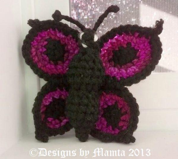 Crochet Swallowtail Pattern