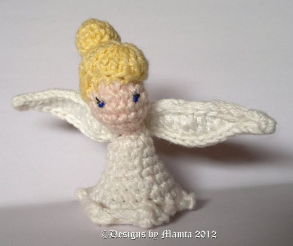 Crochet Tinkerbell Fairy Doll