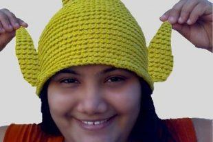 Crochet Tinkerbell Hat