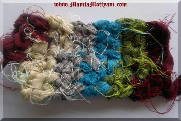 Crochet With Ribbon Yarn