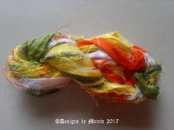 Daffodils Silk Ribbon Yarn