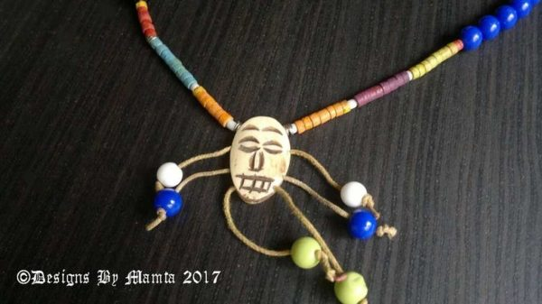 Dancing Witch Tribal Necklace