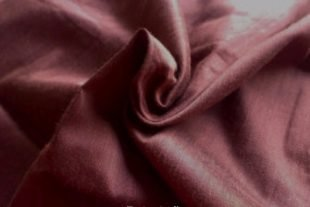Dark Brown Indian Silk Fabric