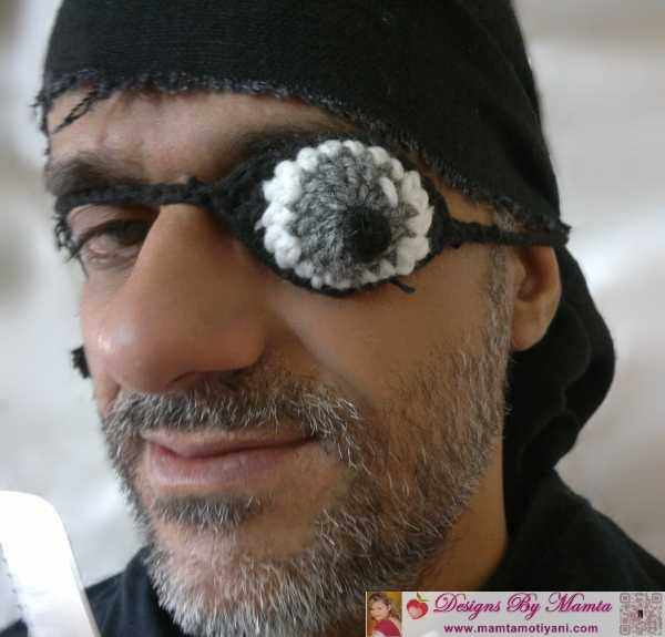 Designer Eye Patch For Pirate Theme Party