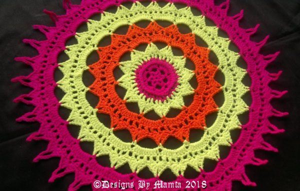 Doily Mandala Pattern