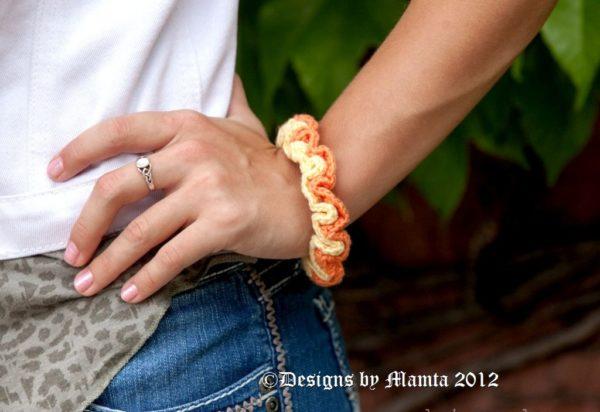 Easy Crochet Bracelet