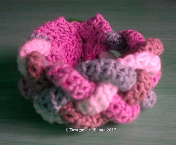 Easy Crochet Cuff Bracelet
