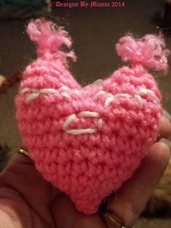 Mrs Heart Amigurumi Crochet Pattern Unique Crochet Toy Patterns