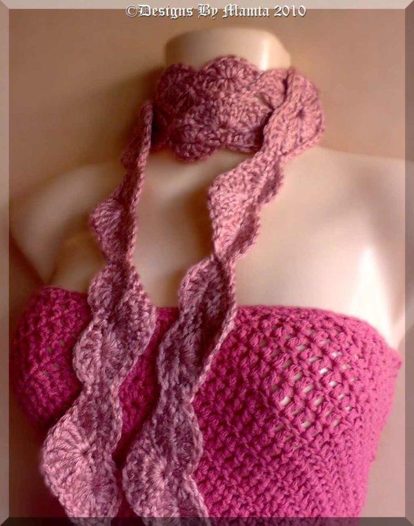Easy Crochet Scarf Pattern