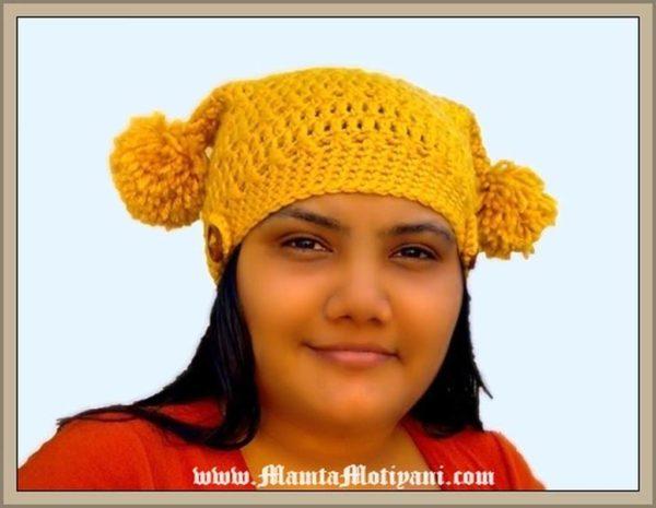 Easy Crochet Square Hat Pattern