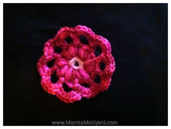 Easy Flower Applique Pattern